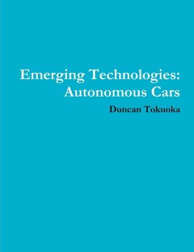 Emerging Technologies: Autonomous Cars (Autonomous Car compare prices)