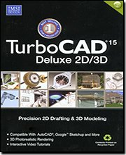 Turbo Cad Deluxe V.15 2D & 3D Precision Design [Old Version]
