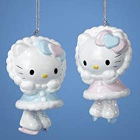 HELLO KITTY BELL ORNAMENT - 3