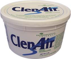 Best Price ClenAir Odor Neutralizing Air Freshener, Unscented, 3lb Gel Tub