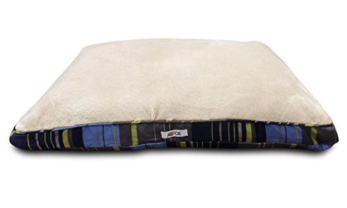 ASPCA-Reversible-Striped-Gusseted-Pillow-Bed