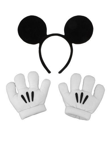 Elope Mickey Mouse Ears  and  Gloves Set