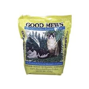 recycled newspaper kitty litter