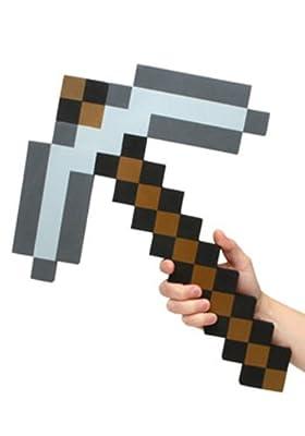 Minecraft Foam Pickaxe from ThinkGeek