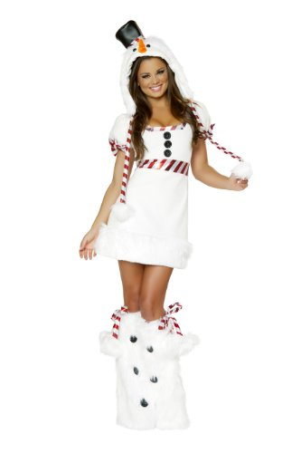 J. Valentine Women's Snowman Mini Dress