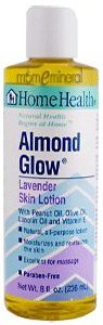 Almond Glow Lavender Skin Lotion, 8 fl oz (236 ml) by Home Health