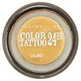 Maybelline Colour Tattoo 24 hour Eyeshadow in 24K Gold