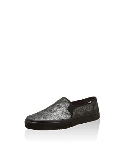 Keds Slip-On Double Decker Met Faux Pony