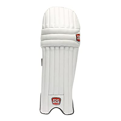 SS Cambridge Men's RH Batting Legguard (White)