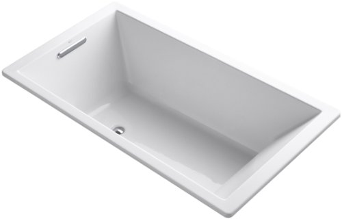 Best Price! KOHLER K-1136-0 Underscore 5.5-Foot Acrylic Bath, White