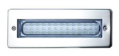 Leyton Lighting 'Enzo' IP65 Recessed White Light LED Bricklight, Only 3.2W Energy Consumption
