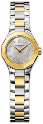 Baume & Mercier Women's A8718 Riviera Two Tone Watch