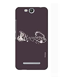 Pick Pattern with Exclusive DISNEY Characters Back Cover for Micromax Canvas Juice 3 Q392