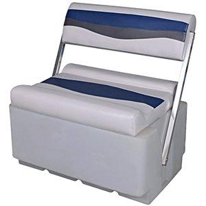 DeckMate Classic Flip Flop Pontoon Boat Seat by DeckMate