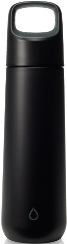Kor Vida Bpa Free Stainless Steel Water Bottle, 500Ml, Anthracite Black front-809142