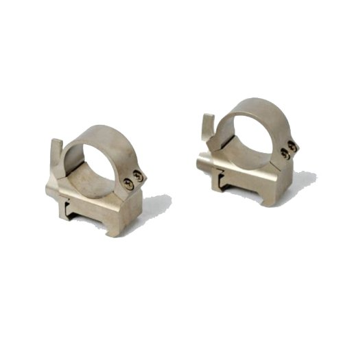 Leupold Quick Release Weaver Style Rings, 1In, Medium, Silver 49867