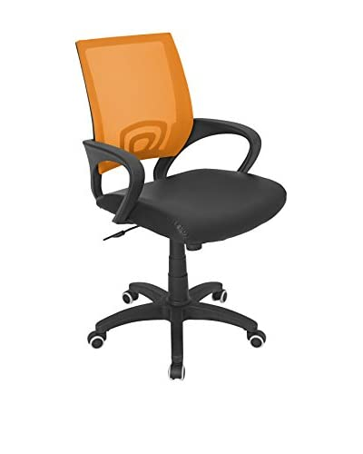 LumiSource Office Chair, Tangerine