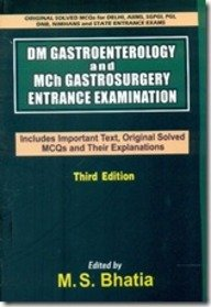 DM Gastroenterology and Mch Gastrosurgery Entrance Examination: 3rd Edition