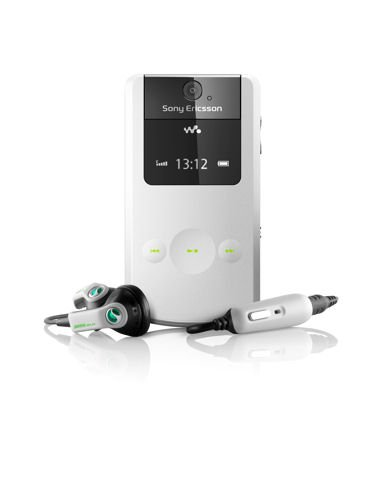 Sony Ericsson W508 poetic white Handy