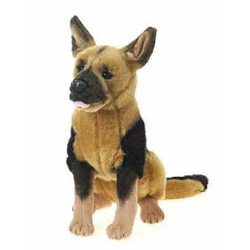 Plush German Shepherd