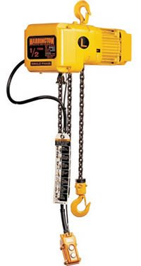 3 Ton 1 Ph Electric Hoist With 10Ft Lift