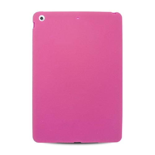=>>  Apple iPad Air (iPad 5 5th Generation) Tablet Protector Skin Cover - Hot Pink