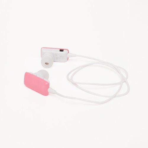cheero Sound Shell (ピーチ) Bluetooth ワイヤレス ヘッドセット半年保証同梱物(イヤーフック×2、イヤーパッド(S/L/M×2)充電用USBケーブル、日本語説明書/保証書)