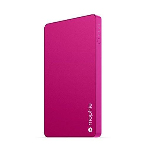 日本正規品・1年保証mophie powerstation mini (急速充電対応 3,000mAh モバイルバッテリー) ピンク MOP-BY-000124