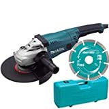 MAKITA GA9020KD 230mm Angle Grinder with Case and Diamond Wheel 110V