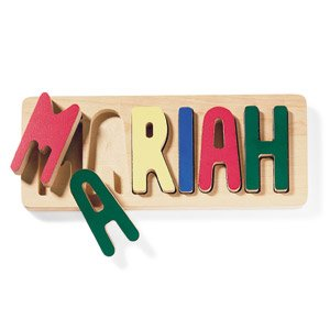 Cheap Catalog Favorites Personalized Name Puzzle (B003P690R0)