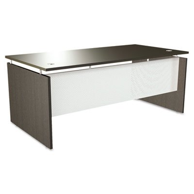 "Sedinaag Series Straight Front Executive Desk Shell Finish: Espresso, Size: 29.5"" H X 72"" W X 36"" D"
