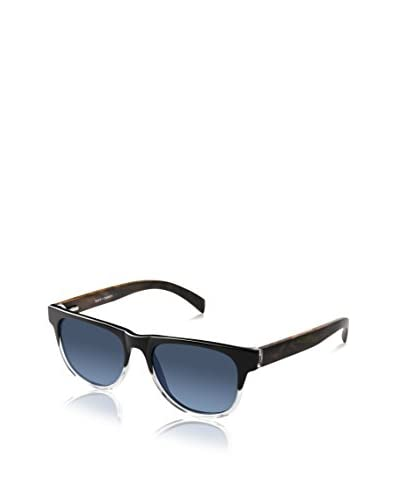 Ivory + Mason Women's A3204 Arden Sunglasses, Black Crystal/Walnut