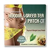 Advanced Hoodia and Green Tea Patch - Time Released - 30 Patches - Most Advanced Formula!