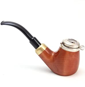 Smoke Pipe – Old Army No 21 – Pear Wood Root – Hand Made