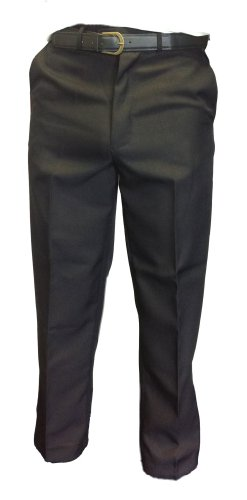 WWK Mens Formal smart casual trousers W30-48 & BELT leg 27