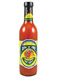Ring Of Fire Red Pepper Roasted Garlic Hot Sauce