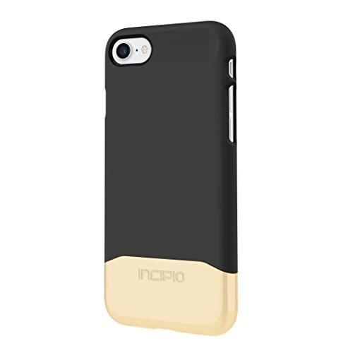 iPhone 7 Case, Incipio EDGE Chrome [Shock Absorbing] Slider Cover fits Apple iPhone 7 - Black/Black (Incipio Edge compare prices)