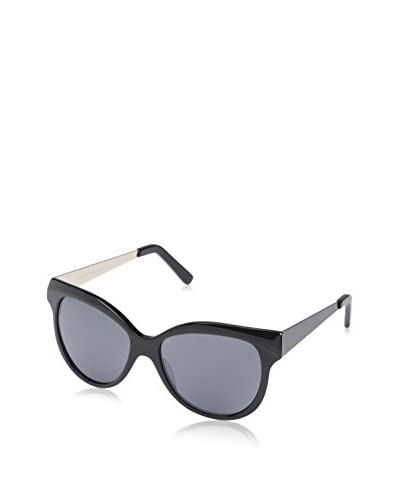 SOCIETY NEW YORK Women's Sunglasses, Black As You See