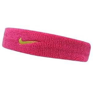 Nike Swoosh Headband Pink -: Amazon.co.uk: Sports & Outdoors