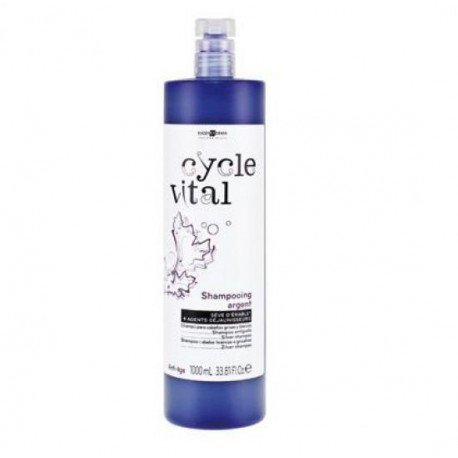 Eugene Perma Cycle Vital Champú Argent 1000Ml 1 L