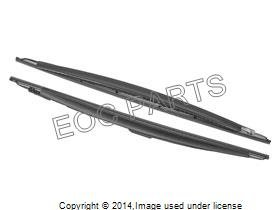 BMW 7 Series (E65) -2001 thru 2008- windshield wiper blades (2005 Bmw 745i Windshield Wipers compare prices)