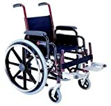 EVA Medical Brightly Colored Pediatric Wheelchair for Kids - Complete with elevating legrest