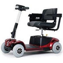 Revo 4 Wheel Electric Scooter, Blue
