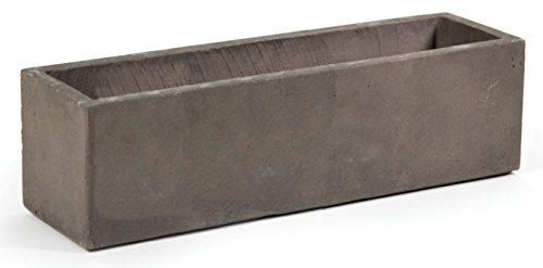 balkonkasten blumenweide flower box taupe 60x17x17cm. Black Bedroom Furniture Sets. Home Design Ideas