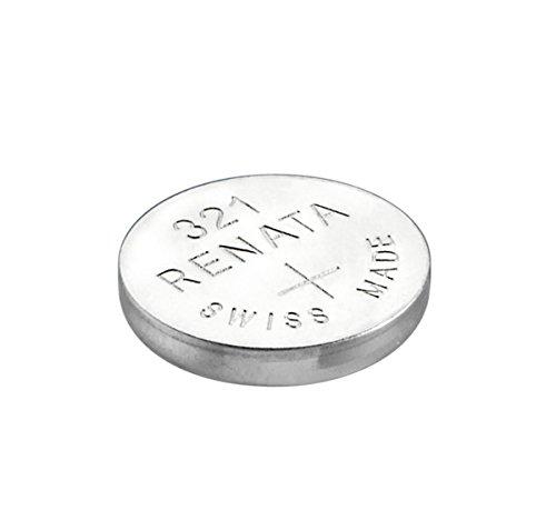 Renata - Pile bouton oxyde argent 321 RENATA 1.55V 14.5mAh - Blister(s) x 1