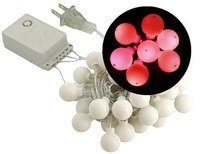 Sewell Led Christmas Lights, Bulb Style (50 Leds, 5 Meters), Red