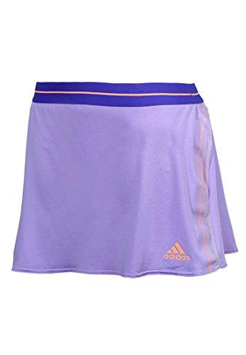 adidas Adizero Damen Tennisrock (lila/orange) L