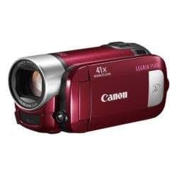 Canon LEGRIA FS406 - Videocámara Memoria Flash Integrada / Tarjeta Memoria - Rojo
