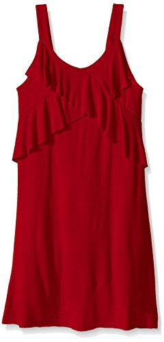 Amy-Byer-Girls-Solid-Sleeveless-Ruffle-Knit-Dress