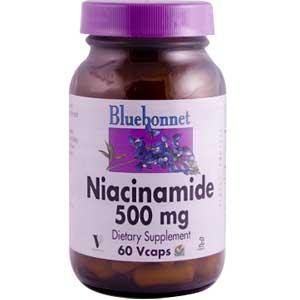 Niacinamide 500Mg Bluebonnet 60 Caps